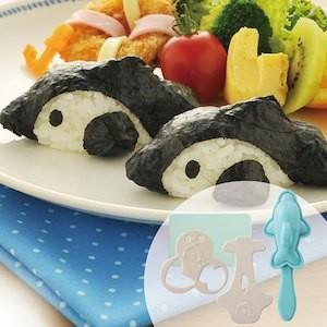 アーネスト イルカおにぎりベビー (おにぎり型 おむすび型 キャラ弁 デコ弁 お弁当 イルカ いるか アニマル)A-76268|ryouhin-hyakka