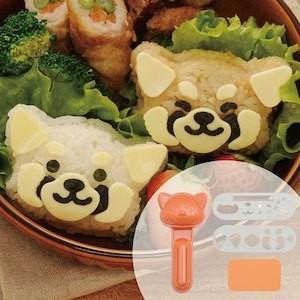 アーネスト レッサーパンダおにぎりセット (おにぎり型 おむすび型 キャラ弁 デコ弁 お弁当 レッサーパンダ アニマル)A-76821|ryouhin-hyakka