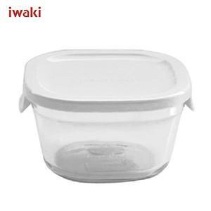 iwaki イワキ パック&レンジ プチ ホワイト 220ml N3200-W 耐熱ガラス製 AGCテクノグラス|ryouhin-hyakka