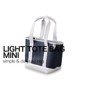スパイス(SPICE)LIGHT TOTE MINI BAG ライトトートミニバッグ ネイビー PTLN1750NY 4548815067116 (メッシュ トートバッグ)|ryouhin-hyakka