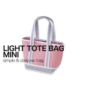 スパイス(SPICE)LIGHT TOTE MINI BAG ライトトートミニバッグ コーラルピンク PTLN1750PK 4548815067130 (メッシュ トートバッグ)|ryouhin-hyakka