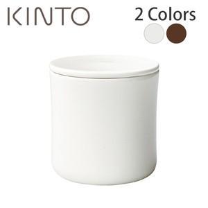 キントー KINTO SCS コーヒーキャニスター (コーヒー豆約200g用)(ホワイト/ブラウン/...