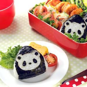 パンダおむすびのりDEぱくっと お弁当グッズ のりパンチ 抜き型 デコ弁 キャラ弁 アーネスト[T]|ryouhin-hyakka