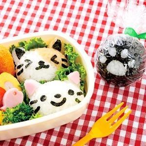 おむすびニャン お弁当グッズ おにぎり 型 キャラ弁 デコ弁 アーネスト|ryouhin-hyakka