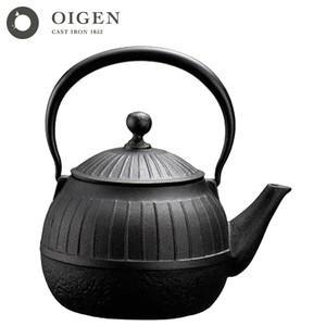 及源鋳造 OIGEN 南部鉄器 鉄瓶 千草焼き 1.15L H-154 南部鉄瓶(送料無料)|ryouhin-hyakka
