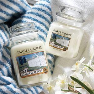 ヤンキーキャンドル YANKEE CANDLE フレグランスキャンドル  YCジャーL クリーンコットン YK0060501 (お取り寄せ商品)[T] ryouhin-hyakka
