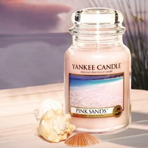 ヤンキーキャンドル YANKEE CANDLE フレグランスキャンドル  YCジャーL ピンクサンド YK00605147 (お取り寄せ商品)[T] ryouhin-hyakka