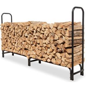 ファイヤーサイド ログラック (大) 15245 薪の保管 薪の収納 鉄製ログラック 薪運び 薪棚 薪置き 薪小屋|ryousou-ya