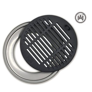 オージピッグ アクセサリー チャーグリル&ドリップ 78012 直火焼き 焼き料理 野外料理|ryousou-ya