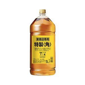 サントリー ウイスキー 新 角瓶 40% 5000ml ペットボトル 正規品 (ブレンデッドウイスキ...