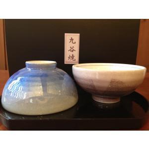 九谷焼ペアご飯茶碗『銀彩』…夫婦茶碗  |ryozando|05