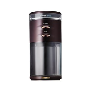 デバイスタイル 電動コーヒーミル ブラウンdeviceSTYLE コーヒーグラインダー GA-1X ...