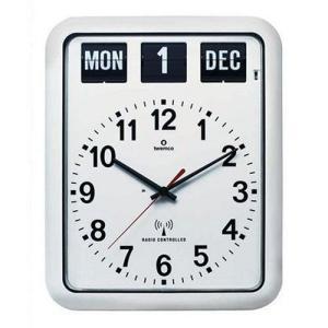TWEMCO (トゥエンコ) 電波掛け時計 パーペチュアルカレンダー機能 RC-12A White|rysss