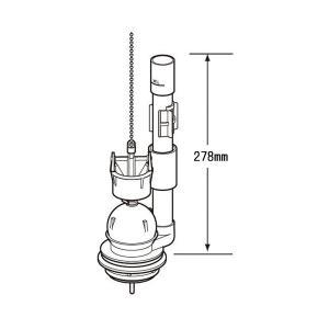 LIXIL(リクシル)INAX 大小切替フロート弁 TF-2820C|rysss