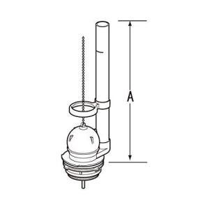 LIXIL(リクシル) INAX フロート弁 密結ロータンク用 TF-1810C|rysss