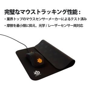 国内正規品SteelSeries QcK マウスパッド 63004