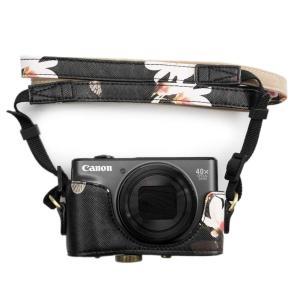 kinokoo Canon PowerShot SX720 HS / SX730 / SX740 用カメラケース PUレザー 全面保護型 三|rysss