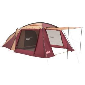 コールマン テント ラウンドスクリーン2ルームハウス バーガンディ 4~5人用 2000028267|rysss
