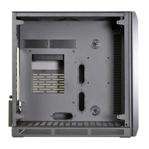 fb0444ca75 Lian Li Mini-ITX対応PCケース 80PLUS BRONZE 650W ATX電源搭載 チャンバー構造 強化ガラス採用 ブラッ