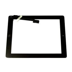 EK Ipad3/Ipad4 高品質タッチパネル 液晶パネル(フロントガラスデジタイザ) 交換修理部品 修理工具付き (ブラック)|rysss