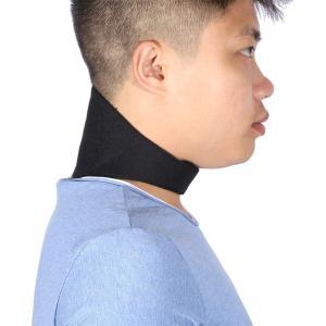 首サポーター - Dewin 首コルセット 磁気 ソフト クッション 頸椎 首 肩凝り解消 冷え 血行促進 トルマリン 男女兼用|rysss