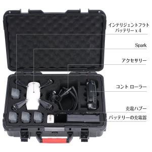 Smatree dji spark 対応収納ケース.収?バッグ 防水機能付き (DS600)|rysss