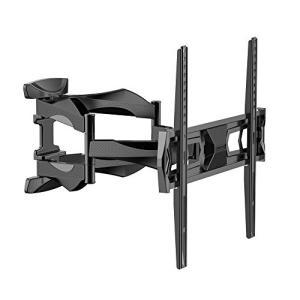 Loctek テレビ壁掛け金具 テレビマウント 液晶テレビ32?55インチ対応 ダブルアームタイプ 前後&左右角度調節 J6|rysss