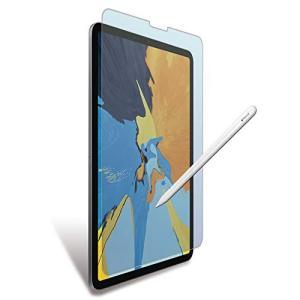 MS factory iPad Pro 11 2018 フィルム ペーパーライク ブルーライト カッ...