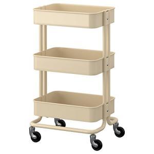 IKEA(イケア) RASKOG 00271893 キッチンワゴン ベージュ|rysss