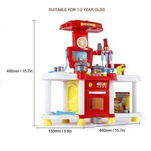 ノーブランド品子供 キッチンセット ままごと 知育玩具 キッチンセットおもちゃ 誕生日/クリスマスプレゼント|rysss