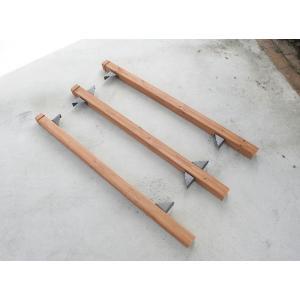 タカショー ラティス用固定金具 柱取付用(4個入)|rysss