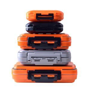 Hicreat 釣り ルアーボックス コンテナ フライタックル 防水ストレージ 小物ケース 高強度ABSプラスチック 軽量 収納 フィッシン rysss