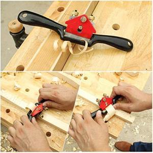 木工用 南京鉋 金属製 調節可能 南京かんな 一字鉋 鳥のようなかんな ミニタイプ 木工? 大工道具 カンナ 面取かんな|rysss