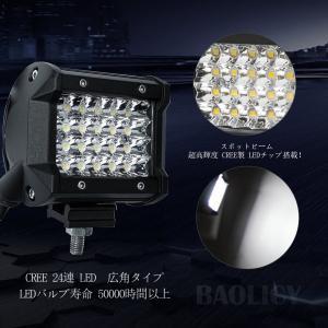 LEDワークライト 作業灯 LEDライトバー オフロード Cree XBDチップ 72W 10-30VDC対応 6000K 新設計 防水・防|rysss