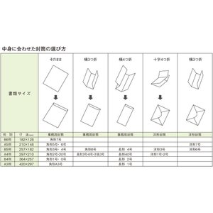 マルアイ 藤壷封筒 李白 10枚入×10パック フ-61×10P