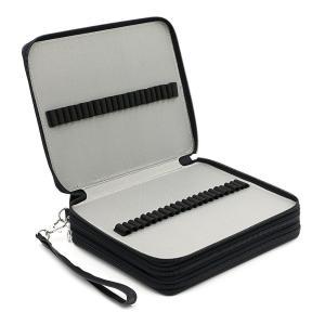 Sumnacon PUレザー色鉛筆ホルダー 120本入れ ペンシルホルダー 色鉛筆 収納ケース筆箱 ...