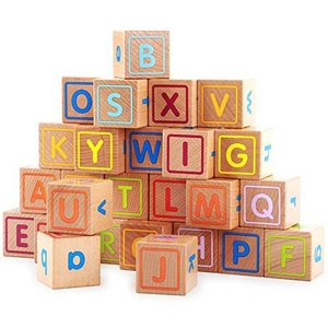 アルファベット積み木セット 木製つみ木 ブロック 子供おもちゃ|rysss