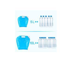WINOMO ウォータータンク 水用ポリタンク 水容器セット水缶 貯水タンク コック付 屋外ポータブ...