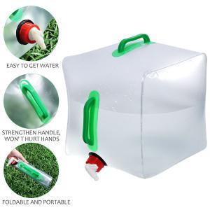 WINOMO 水タンク ウォータータンク 水缶 アウトドア 20L キャンプ 貯水ツール 折りたたみ...