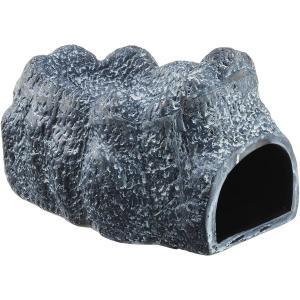 GEX EXOTERRA モイストロック200 陶器製シェルター 爬虫類用 W11.5×D19.5×...