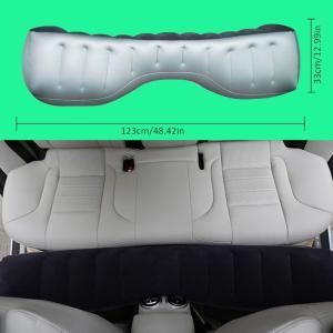 車中泊マット 後部座席エアーベッド 後部座席クッション 収納バッグと修理キットエアーベッド自動運転ツ...