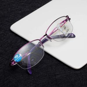 JO(ジーオー)老眼鏡 遠近両用 ブルーライトカット UVカット 超軽量 おしゃれ シニアグラス パソコン用累進多焦点 遠近両用(+2.0)|rysss