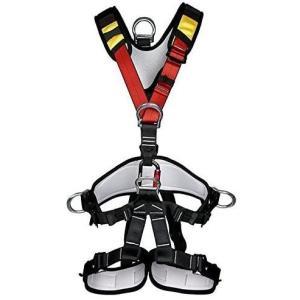 YaeTact アウトドア クライミング 登山降下 安全帯ベルト バストベルトに座っ登山ハーネス座席 高所作業保護 懸垂下降アウトドア 身に|rysss