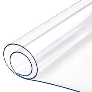 透明テーブルクロス Timoise(ティーモイス) PVC製 ビニールマット 防塵・防水・耐久・耐熱 矩形 厚さ1.5mm サイズ選択可能|rysss