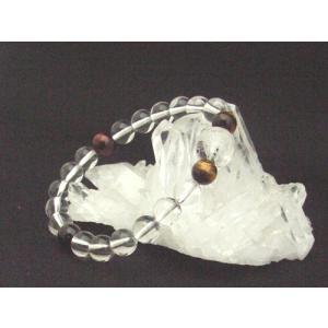 全体運 パワーストーン 水晶龍彫り物ブレスレット 8mm|ryu