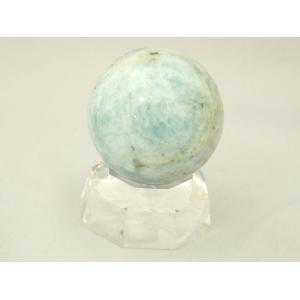 アクアマリン 球体置物 パワーストーン 天使の石 一点物|ryu