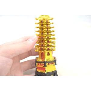 文昌塔 樹脂製置物 ぶんしょうとう 金 学力向上 試験勉強 受験合格|ryu|04