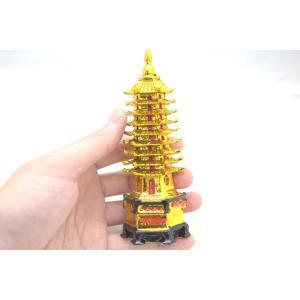 文昌塔 樹脂製置物 ぶんしょうとう 金 学力向上 試験勉強 受験合格|ryu|05