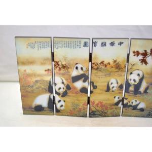 屏風 パンダ 熊猫 折り畳み式 中華国宝|ryu|03