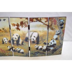 屏風 パンダ 熊猫 折り畳み式 中華国宝|ryu|04